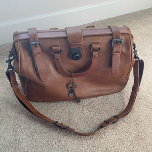 Fossil Leather Doctor Bag